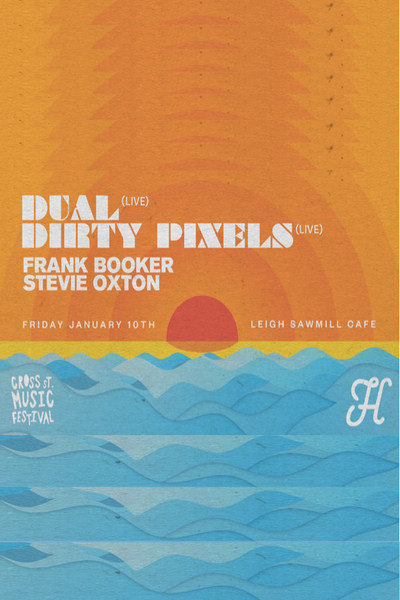 Dual, Dirty Pixels, Frank Booker And Stevie Oxton