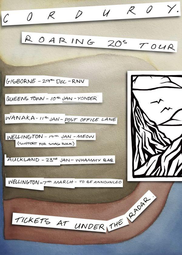 Corduroy. Roaring 20's Tour