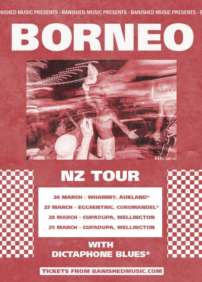 CANCELLED: Borneo (AUS), New Zealand Tour