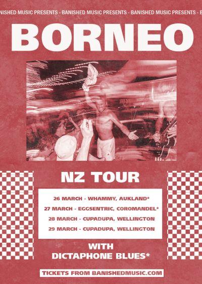 Borneo (AUS), New Zealand Tour