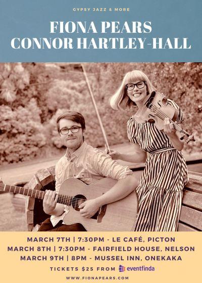 Fiona Pears, Connor Hartley-hall.