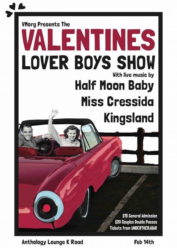 Valentines w/ Half Moon Baby, Kingsland and Miss Cressida
