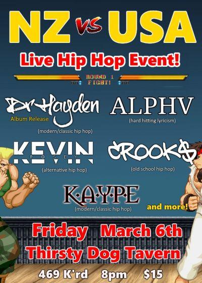 Dr Hayden, Alpha Muzik, Kevin Posey, Crook$,Kaype