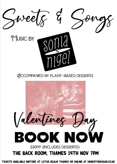 Sweets And Songs - Valentines Day