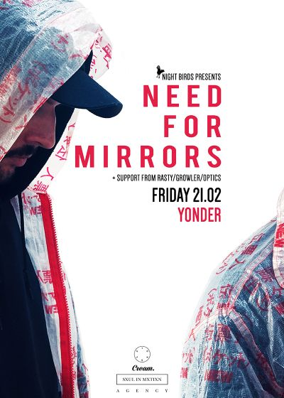 Need for Mirrors, Rasty, Growler, Optics
