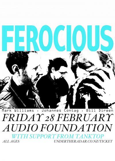 Ferocious (Direen, Williams, Contag) Album Release