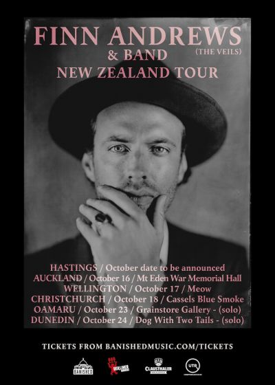 Finn Andrews (the Veils) And Band New Zealand Tour