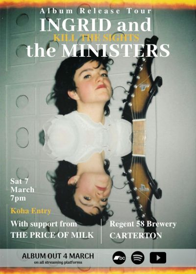 Ingrid And The Ministers Album Release Tour w/ The Price Of Milk