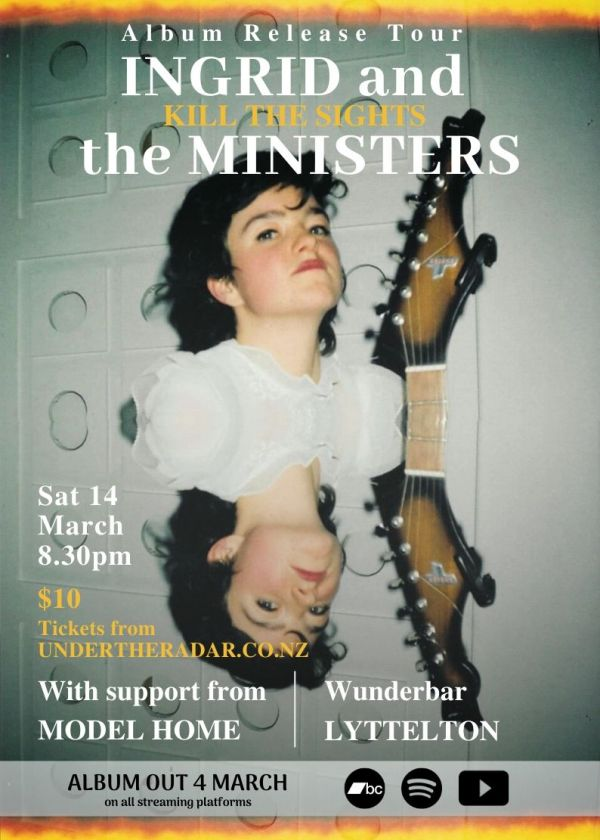 Ingrid and the Ministers Album Release Tour w/ Model Home