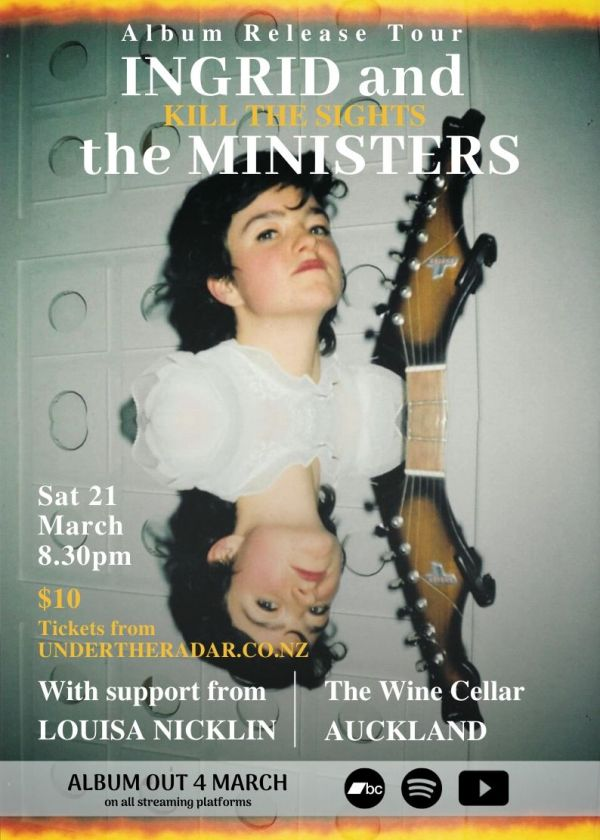 Ingrid and the Ministers Album Release Tour w/ Louisa Nicklin - Cancelled