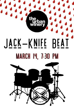 Jack-knife Beat! Rocks The Urban Winery