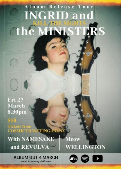 Ingrid And The Ministers, Namesake, Revulva - Cancelled