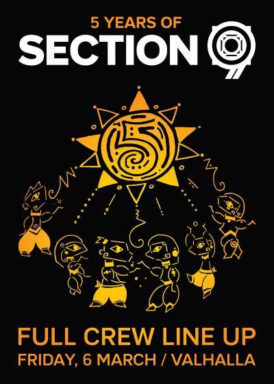 5 Years Of Section 9: Likklejon b2b Nazveck, BloQ, Behemoth-kun & More