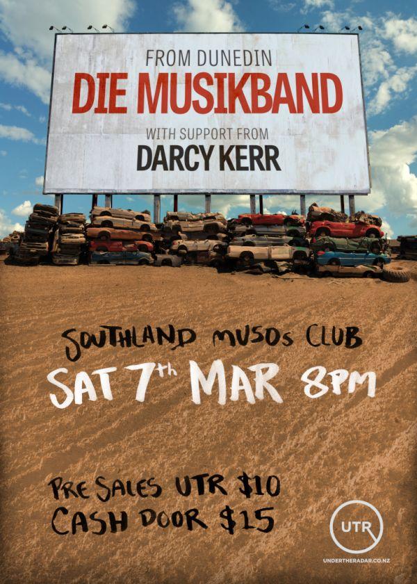 Die Musikband w/ Darcy Kerr