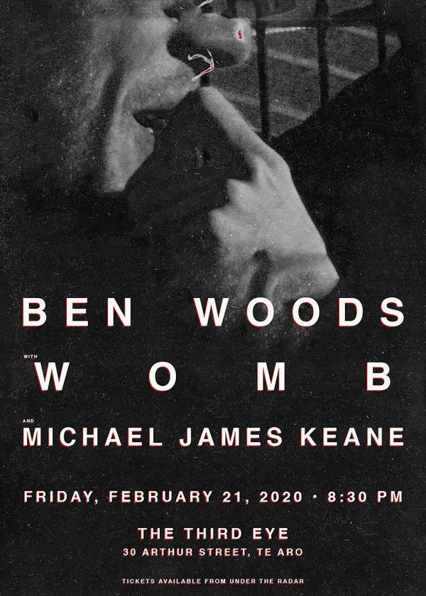 Ben Woods, Womb and Michael James Keane