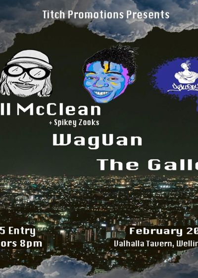 Will Mcclean, Waguan, The Gallery