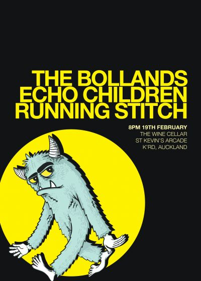The Bollands, Echo Children, Running Stitch