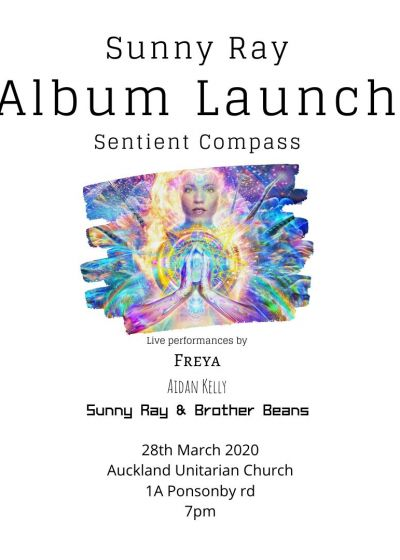 Sunny Ray's Album Launch - Cancelled