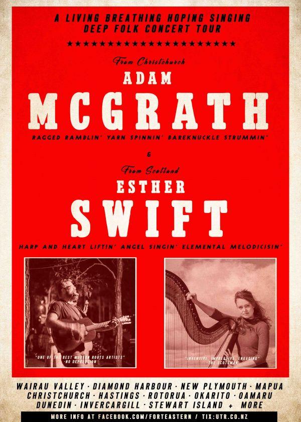 Adam Mcgrath and Esther Swift (Scotland)