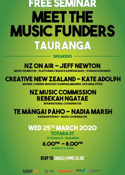 MMF: Meet The Music Funders Seminar - Cancelled