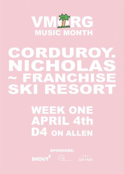 VMorg // Corduroy // Nicholas Franchise // Ski Resort - Cancelled