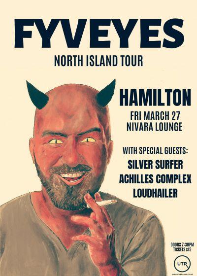 FYVEYES North Island Tour - Cancelled
