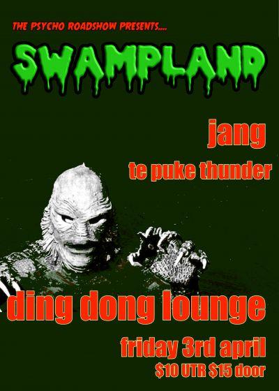 Swampland, Jang, Te Puke Thunder - Cancelled