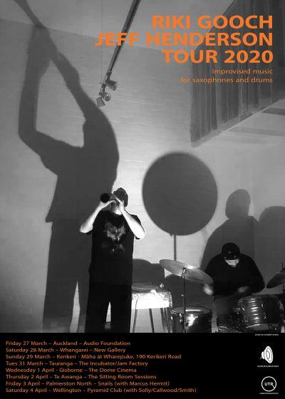 Riki Gooch, Jeff Henderson 2020 Tour - Cancelled
