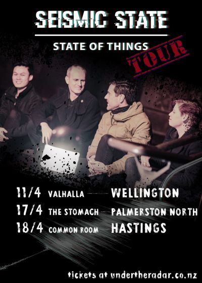 Seismic State - State Of Things Tour + Special Guests - Cancelled
