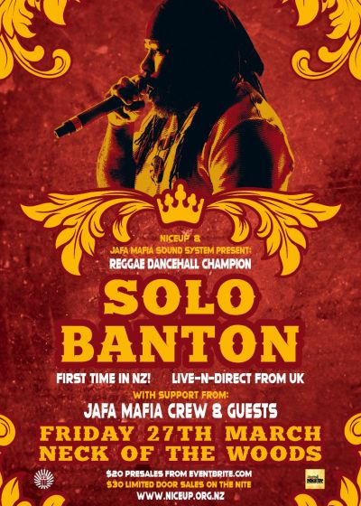 Solo Banton - Cancelled