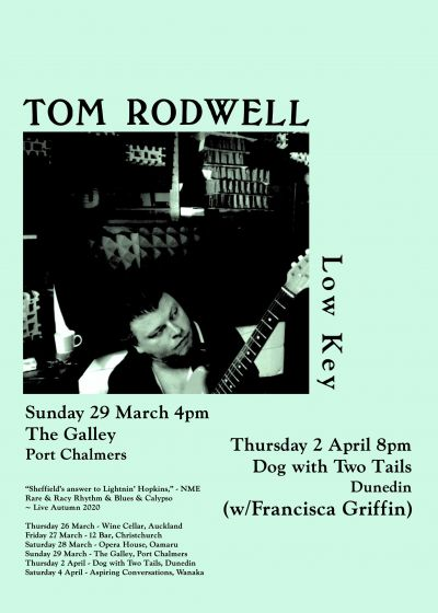 Tom Rodwell - Low Key - Cancelled