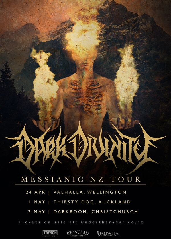 Dark Divinity w/ Plague Of The Fallen & Wounding - Cancelled