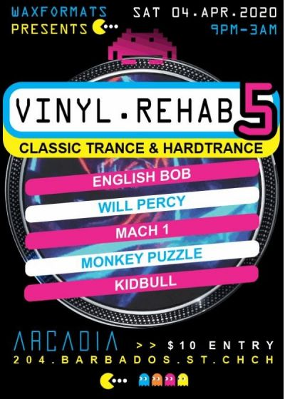 Vinyl Rehab 5 : Birthday Edition : Safety Bubble Party