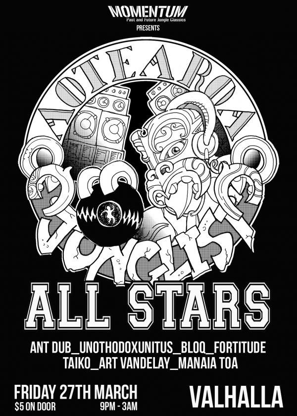 Aotearoa Junglist Allstars - Cancelled