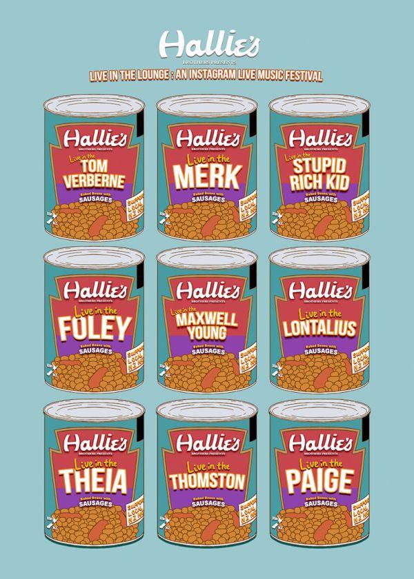 Hallensteins - Live In The Lounge w/ Merk, Lontalius, Paige + More