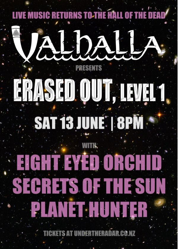 Erased Out, Level 1 - Eight Eyed Orchid, Secrets Of The Sun, Planet Hunter