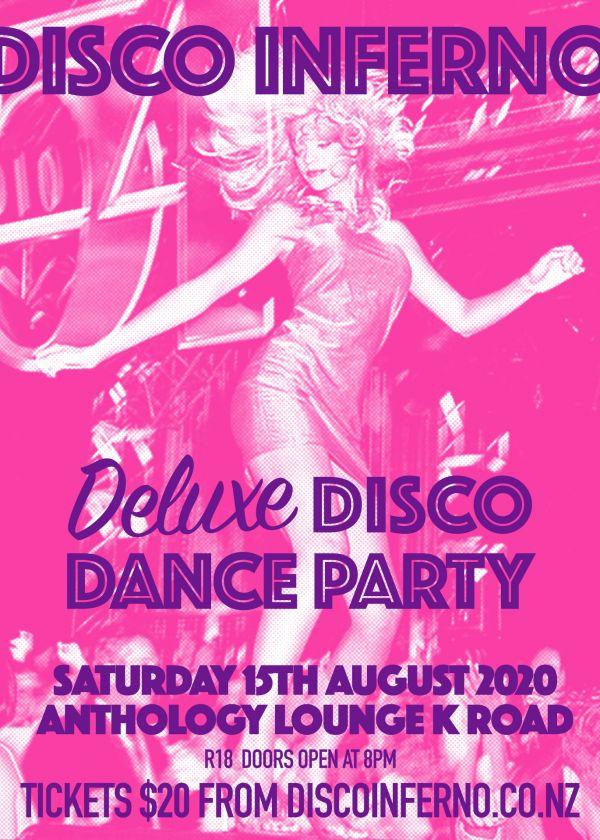 Disco Inferno - 70's Disco Dance Party - Postponed