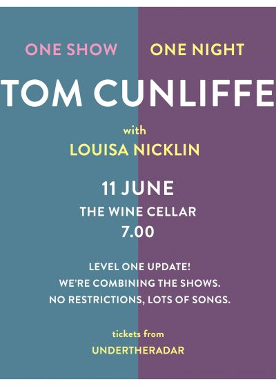 Tom Cunliffe And Louisa Nicklin - 7pm