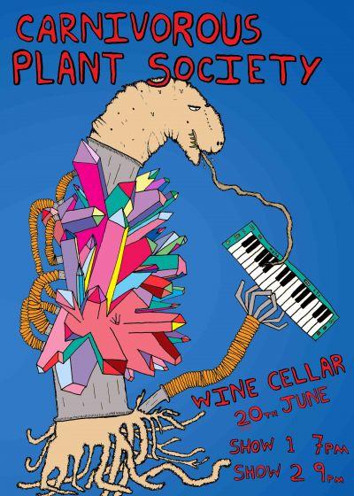Carnivorous Plant Society: Wine Cellar Double Show Night 7pm