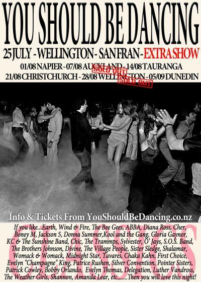 You Should Be Dancing - NZ Tour