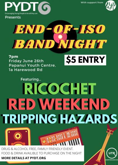 PYDT Presents: End-of-Iso Band Night