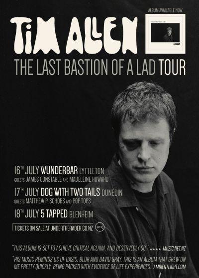 Tim Allen - The Last Bastion Of A Lad Album Release Tour