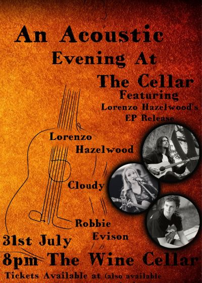 An Acoustic Evening At The Cellar