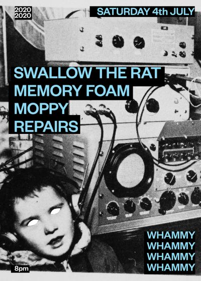 Swallow The Rat, Memory Foam, Moppy, Repairs