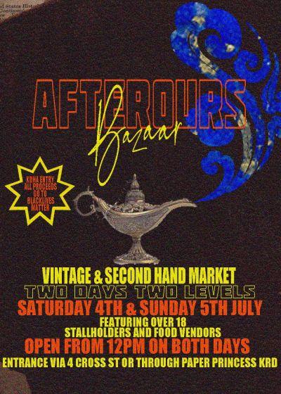 Afterours Bazaar!