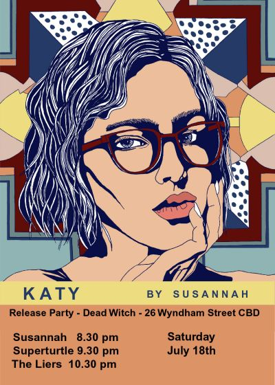 Katy Single Release w/ Susannah , Superturtle and The Liers