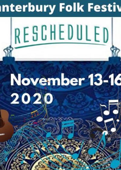 Canterbury Folk Music Festival 2020 - Celebrating Acoustic Music