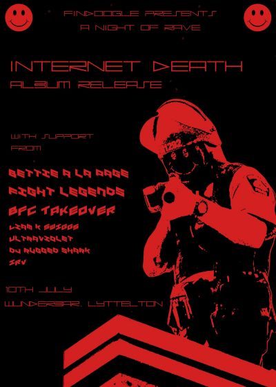 Internet Death - Not Your Dog Album Release Show