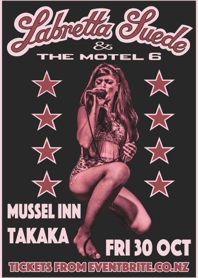 Labretta Suede and the Motel 6 - Halloween Show - Takaka!