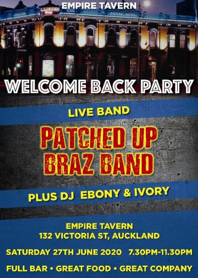 Empire Tavern welcome back party
